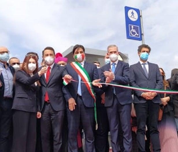 Inaugurazione fermata Fontanarossa
