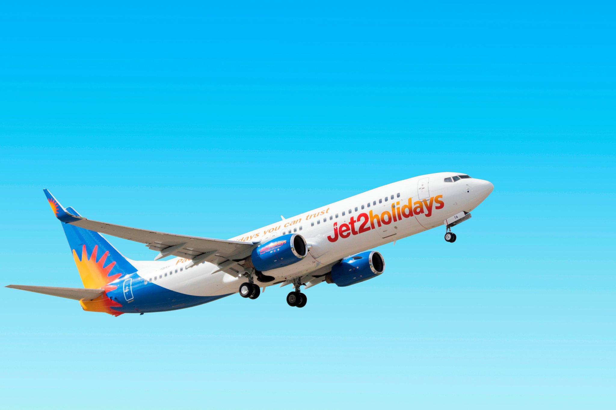 Jet2.com e Jet2holidays lanciano voli per l'estate 2022