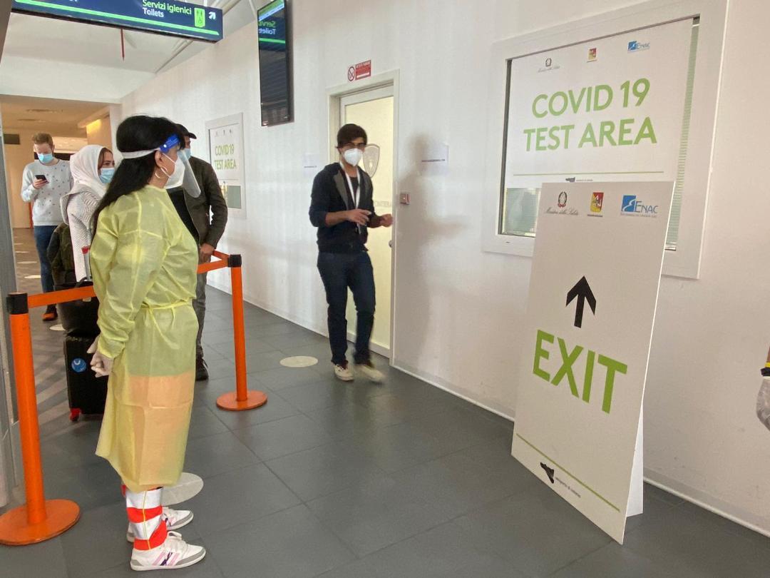 SAC: dal 14 dicembre al via gli screening per i passeggeri in arrivo