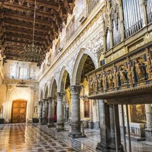 Interno della cattedrale di Enna