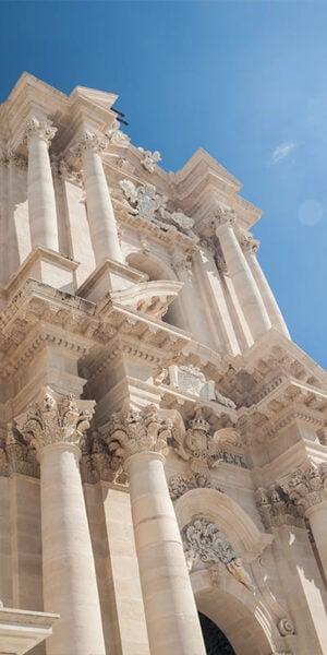 Facciata della Cattedrale di Siracusa