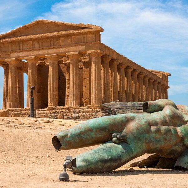 Tempio della Concordia a Agrigento