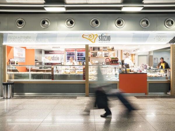 Sfizio: negozio del terminal di Catania
