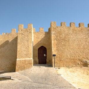 Ingresso del castello di Chiaramonte a Naro