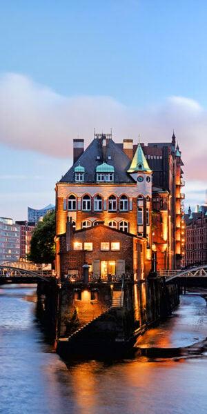 Speicherstadt a Amburgo