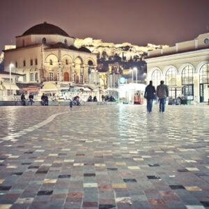 Piazza Monastiraki di Atene