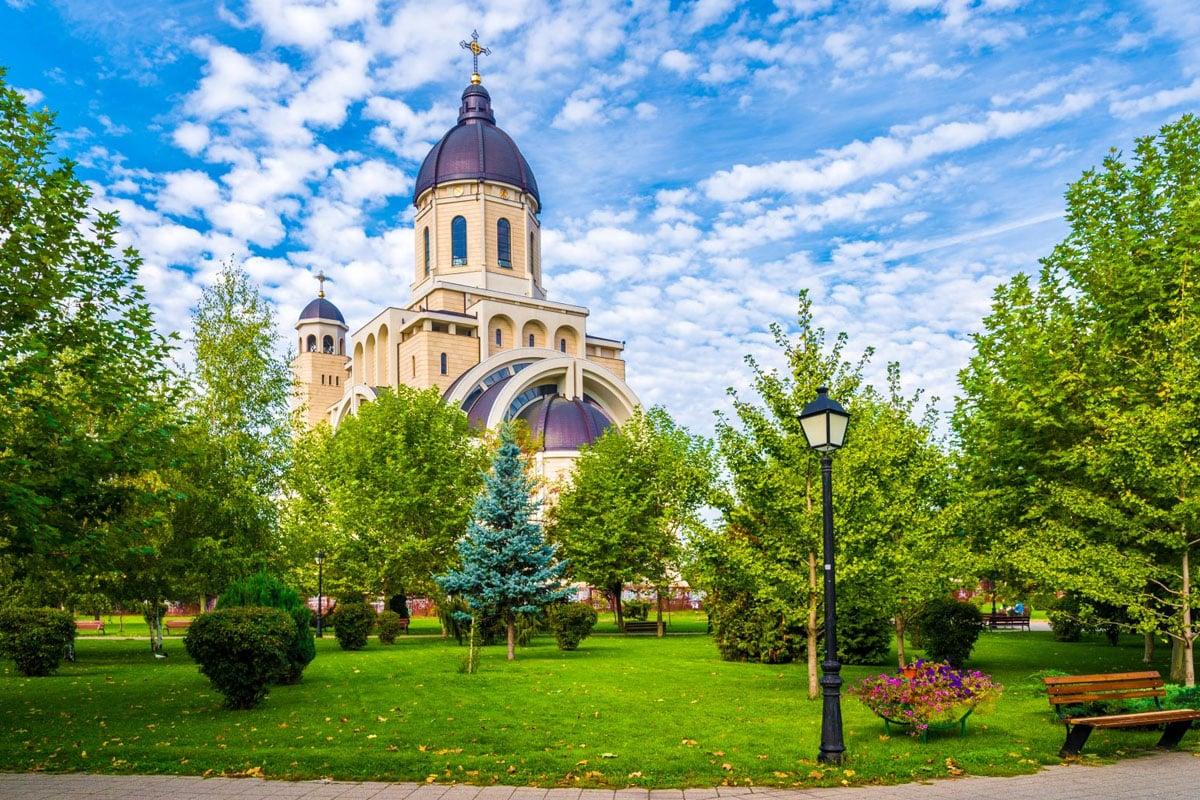 Cattedrale di Bacau in Romania