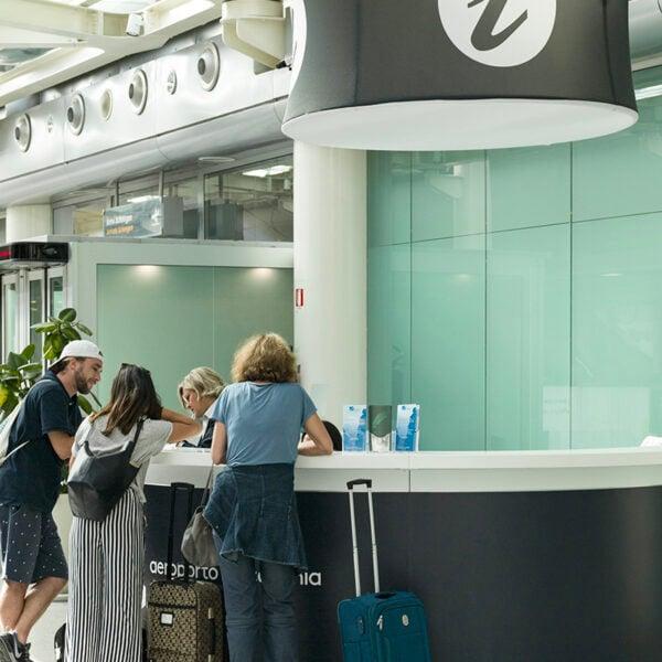 Terminal A Desk, Catania airport