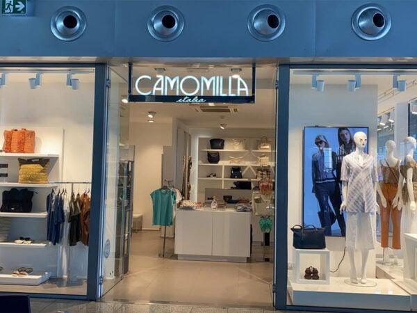 Negozio Camomilla, aeroporto di Catania