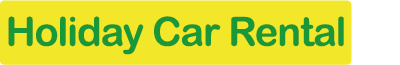 Logo Holiday car rental