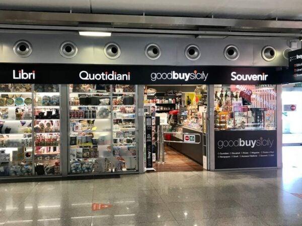 Goodbuy Sicily: negozio aeroporto di Catania