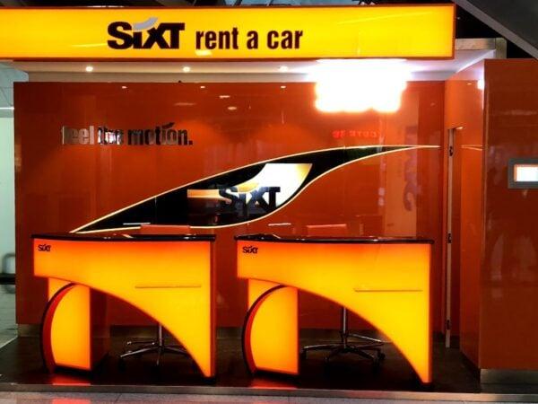 Sixt: autonoleggio all'aeroporto di Catania